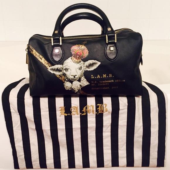 3450d56f8765 L.A.M.B. Handbags - L.A.M.B. Black Melbourne