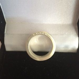 Coach Jewelry - Coach Sterling Silver Ring