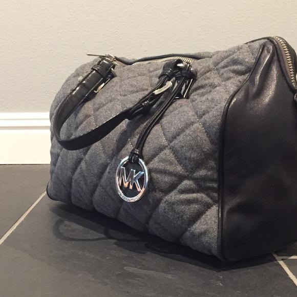 35d05a30c740 MICHAEL Michael Kors Grayson large quilted satchel.  M 55fef7d1bcd4a738f70019ea