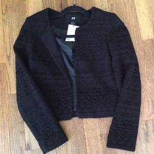 H&M Crochet Blazer