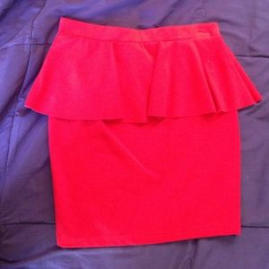 ❤️ Red Candie's Skirt ❤️