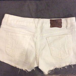 Paris Blues Denim - Paris Blues White Denim Shorts