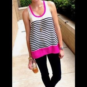 Anthropologie Tops - Anthropologie stripe tank