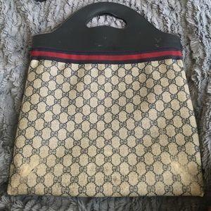 100% Authentic 80's Vintage Gucci Bag
