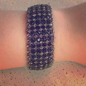 Jewelry - black and silver bracelet