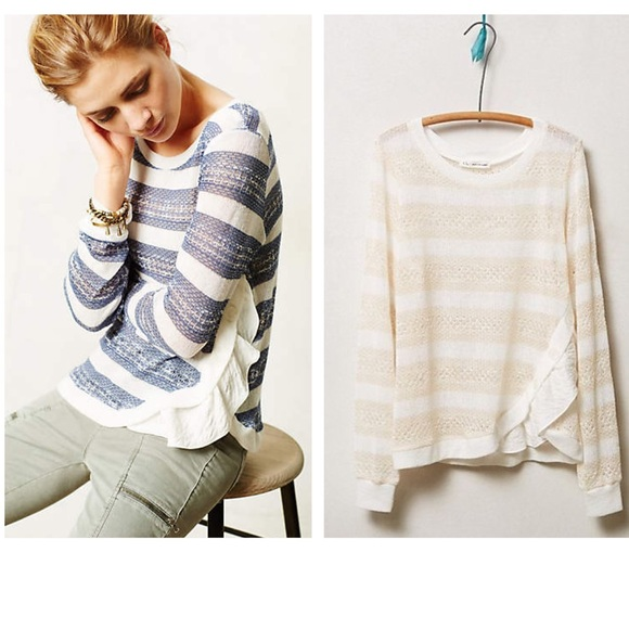 Anthropologie Sweaters - Anthropologie Layla Pullover 2f2f8a1d3