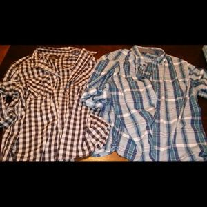 Other - Plaid tops men