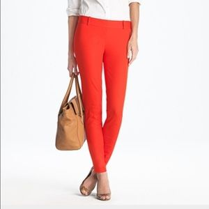 J. Crew Minnie Pant in Red