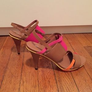 Shoes - Color blocked pumps