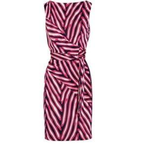 Diane von Furstenberg DVF wrap dress