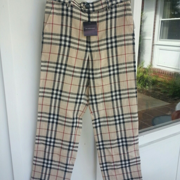 21b773bac30921 Burberry Pants | Nova Check | Poshmark