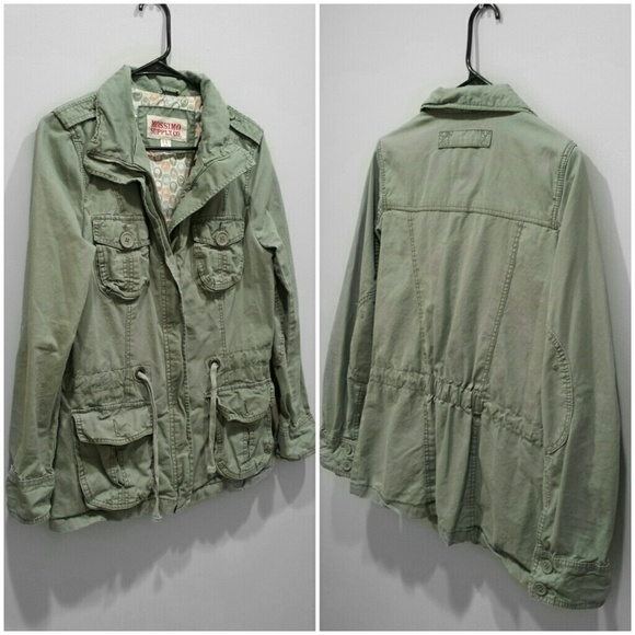 c3ffa727059ca SALE  Mossimo Supply Co. Military Jacket. M 55ff4211d6b4a1fad001ce82