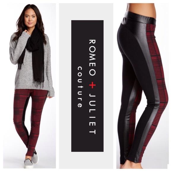 79% off Romeo & Juliet Couture Pants - Romeo + Juliet Oxblood ...