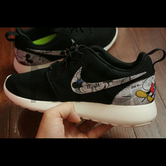 Very Mickey Minnie Mouse Nike Roshe Run Custom | Poshmark FR29