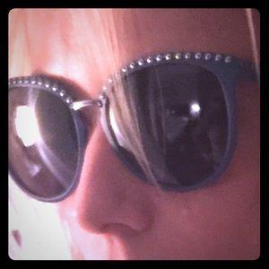 Rebecca minkoff new dark blue sunglasses