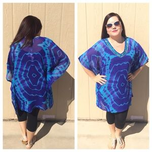 🆕LISTING Psychedelic Kaftan Style Tops