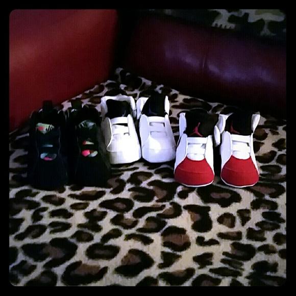 Jordan Shoes   Three Pair Of Infant S