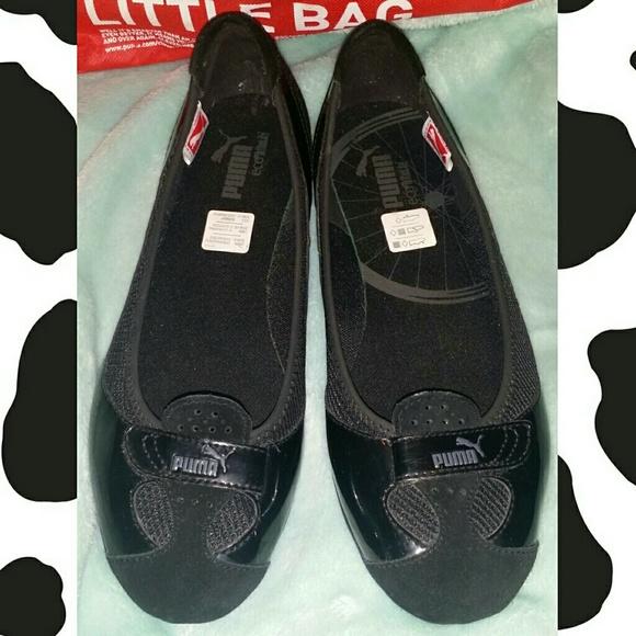 3671d77fcb Puma Women's Zandy Patent Leather Ballet Flat. M_55ff8483f0137d2e5201fa23