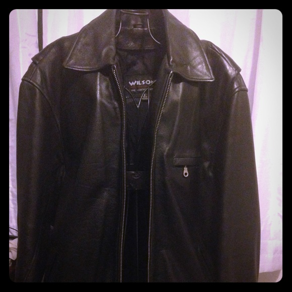 Wilsons Leather - MEN Wilson leather Jacket 100% leather from