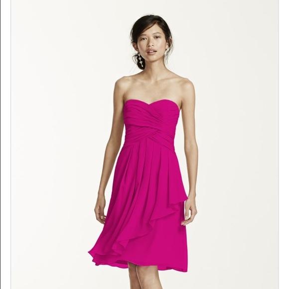 9ab4b19eb50 David s Bridal Dresses   Skirts - David s Bridal Begonia bridesmaid dress