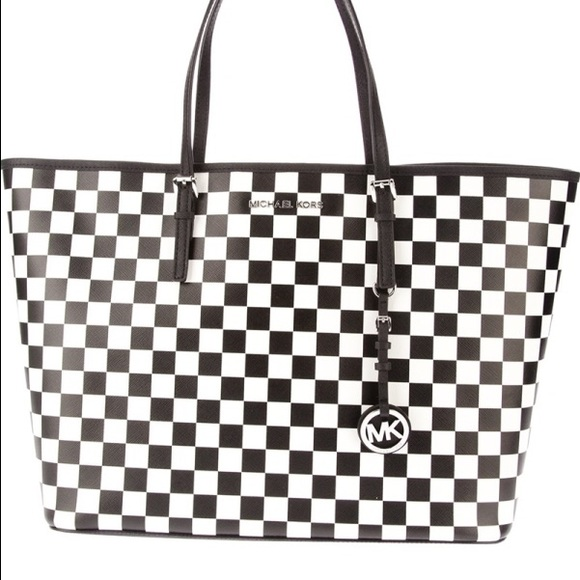 50% off Michael Kors Handbags - ✨HP 11/19✨Michael Kors checkered ...