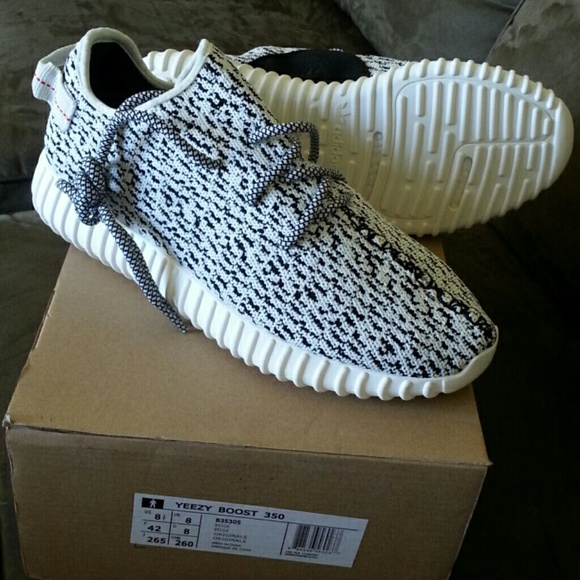 0666a0e152f6 Adidas Yeezy Boost 350 Men s 8.5 NEW