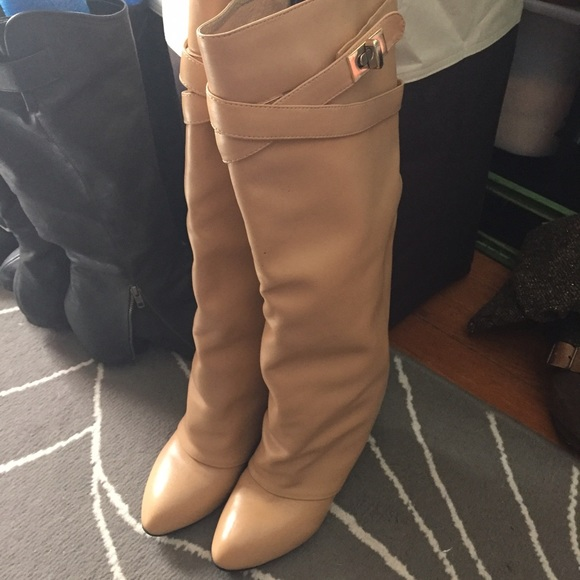 Givenchy Shoes - Givenchy Like Shark Lock Boots in Camel 6f30cacbf