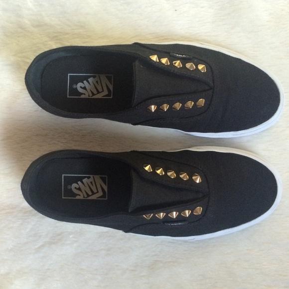 89732e185819 Black Vans with Gold Studs. M 560052898f0fc45b0f001cc7
