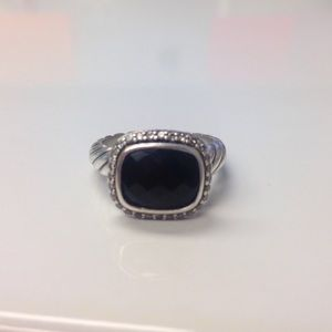 Onyx David yurman ring