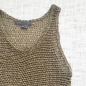 Vince Tops - Vince knit sleeveless top