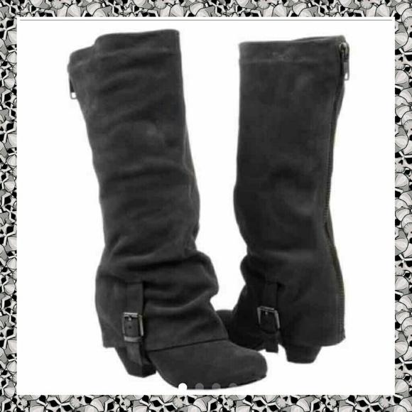 77 monkey boots monkey suede black
