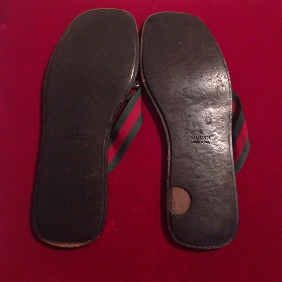 Gucci - Used Gucci Flip Flops Size 9 From Michelles -5592