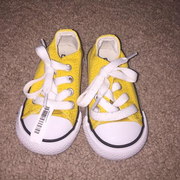 Yellow Converse Infant | Poshmark