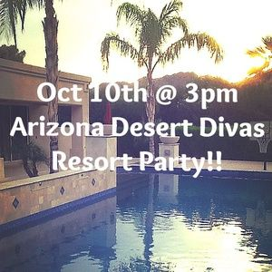 Other - Arizona Desert Divas Meet Up Party Oct 10th @ 3pm