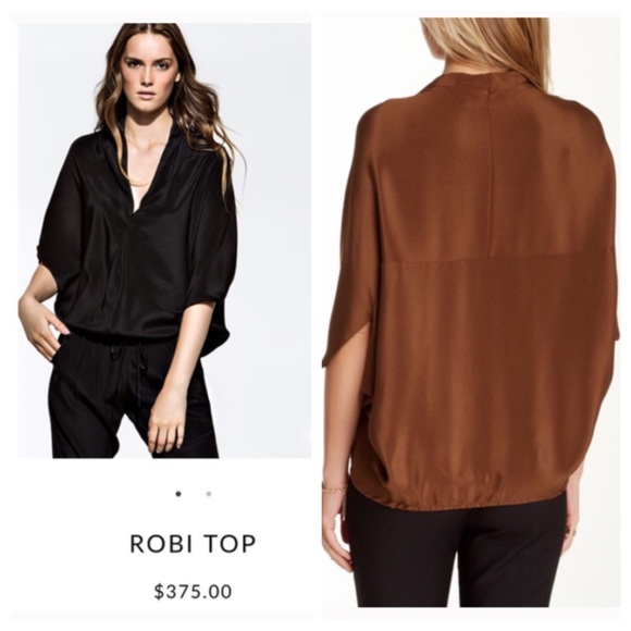 Buy Online Cheap Ramy Brook Robi Silk Top w/ Tags Sale For Sale Buy Sale Online SNquFpY