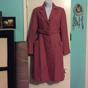 Vintage Wool Quarter Length Coat