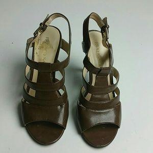Brown Franco Sarto Heels