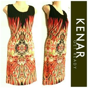 Kenar Dresses & Skirts - 🆕 Kenar Colorful Dress Size 12