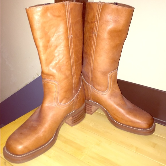 882abcc9c7e Brand New! FRYE Campus Boot, rich Camel Color