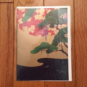 Other - Beautiful Asian design blank card w/envelope