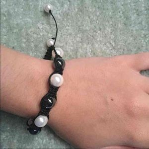 Jewelry - Pearl Bracelet from a High End Macrame