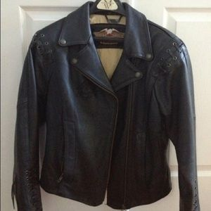 Harley Davidson Jackets & Blazers - Leather Moto jacket Harley Davidson NEW 💥