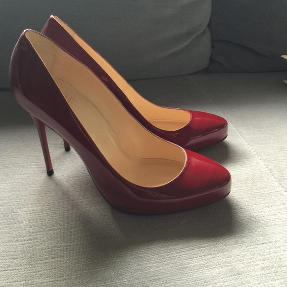 d069962a09b Christian Louboutin Shoes - Christian Louboutin Red Stilettos - New