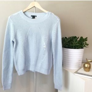29% off H&M Sweaters - 🎉HP!🎉 H&M Powder Blue Knit Pullover ...