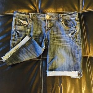 Almost Famous Bermuda Jean Shorts