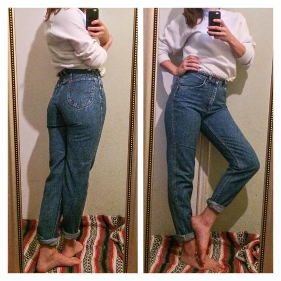 7332452c Vintage Lee Mom Jeans. M_56017da47eb29f1e7600654a