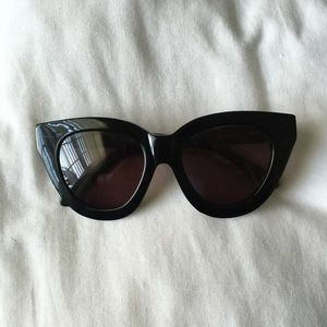 "Karen Walker black ""Anytime"" sunglasses"