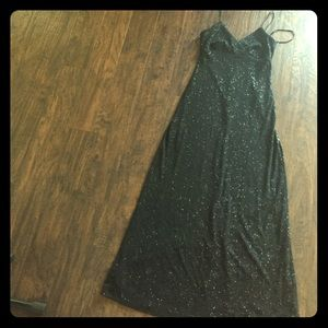 Rimini Dresses & Skirts - Black sparkly gown