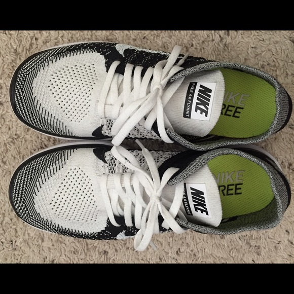 Gratis 4.0 / / Mono Blanco Flyknit Nike Negros De Las Mujeres Voltios 3gT3sLQL