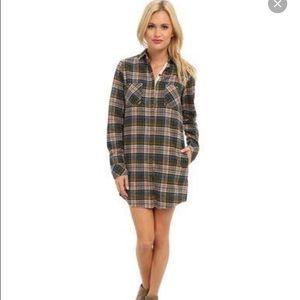 Alternative Apparel plaid shirt dress